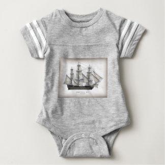 1805 Victory ship Baby Bodysuit