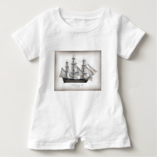 1805 Victory ship Baby Romper