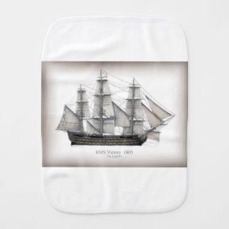 1805 Victory ship Burp Cloth