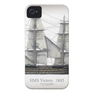1805 Victory ship Case-Mate iPhone 4 Case