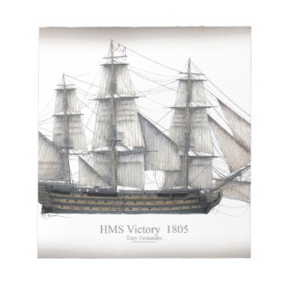 1805 Victory ship Notepad