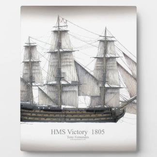 1805 Victory ship Plaque