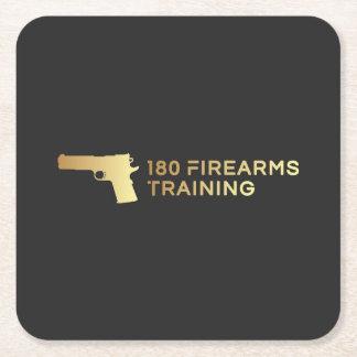 180 Firearms Training coasters