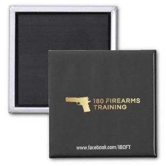 180 Firearms Training Magnet