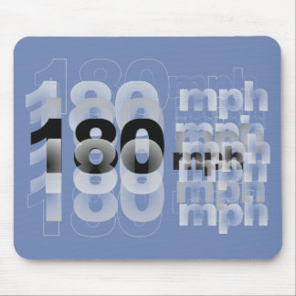 180mph! mouse pad