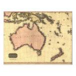 1818 Australasia  Map - Australia, New Zealand