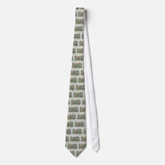 1829 Pennsylvania Map Tie