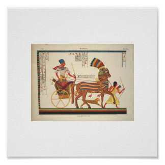 1835 Rare Egyptian Picture Poster