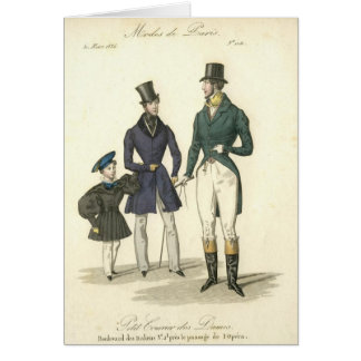 1836 mens fashion card