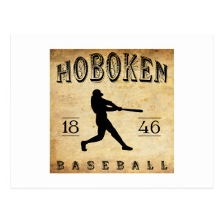 1846 Hoboken New Jersey Baseball Postcard
