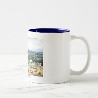 1852 Color Lithograph - View of Washington Two-Tone Coffee Mug