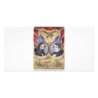 1856 Fremont - Dayton Republican Photo Card Template