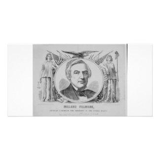 1856 Millard Filmore Customized Photo Card