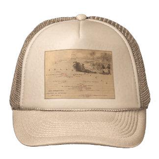 1858 Map Iles Marquises, France (Marquesas Island) Trucker Hat