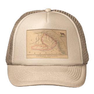 1858 Map of Amerique Francaise (Guyane), Guyana Trucker Hat