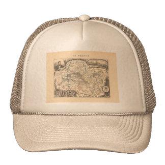 1858 Map of Loiret Department, France Trucker Hat