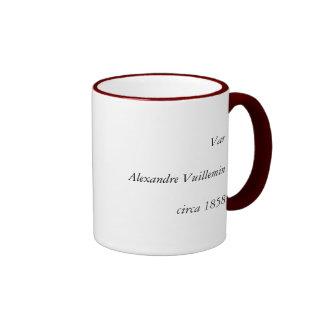 1858 Map of Var Department, France Ringer Coffee Mug