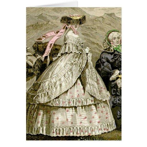 1859 Fashions Card