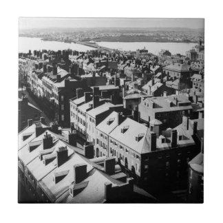 1859: The city of Boston, Massachusetts Ceramic Tiles