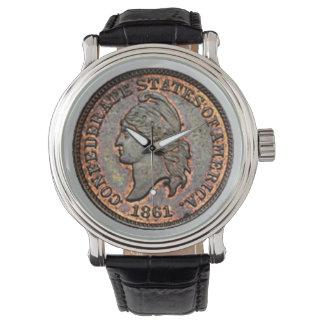1861 Civil War USA Penny Watch