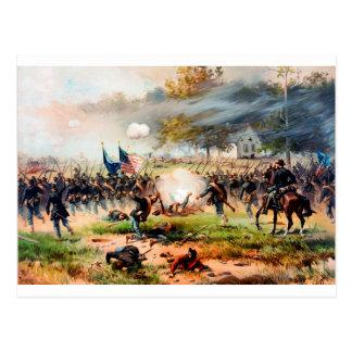 1862 Battle of Antietam Postcard
