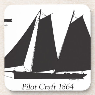 1864 Pilot Craft - tony fernandes Coaster