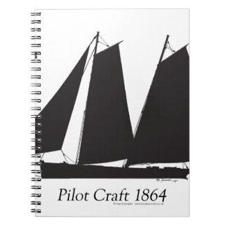 1864 Pilot Craft - tony fernandes Notebooks