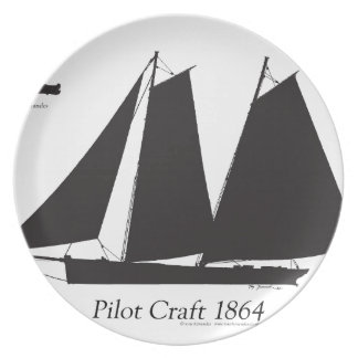 1864 Pilot Craft - tony fernandes Plate