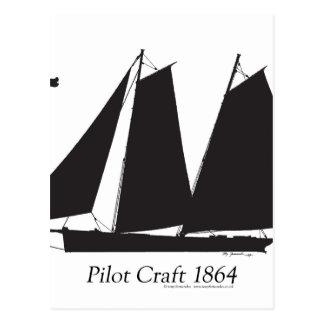 1864 Pilot Craft - tony fernandes Postcard