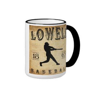 1865 Lowell Massachusetts Baseball Mug
