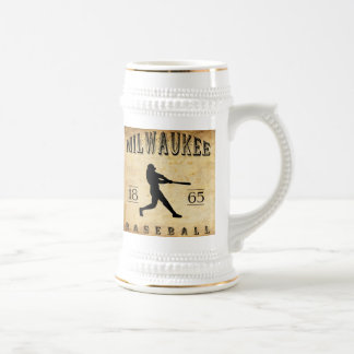 1865 Milwaukee Wisconsin Baseball Mug