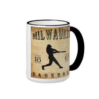 1865 Milwaukee Wisconsin Baseball Mugs