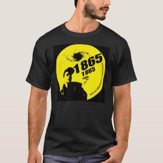 1865 Yellow on Black T-Shirt