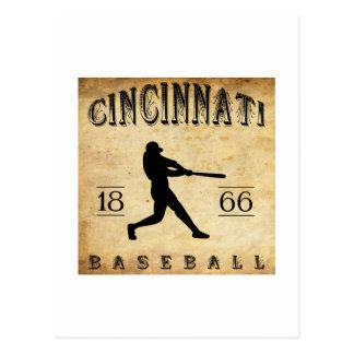 1866 Cincinnati Ohio Baseball Postcard
