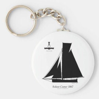 1867 solent cutter - tony fernandes keychain