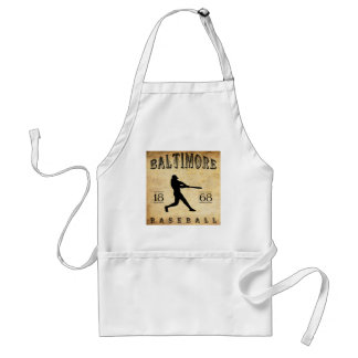 1868 Baltimore Maryland Baseball Standard Apron