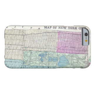 1870 Map New York City Central Park Barely There iPhone 6 Case