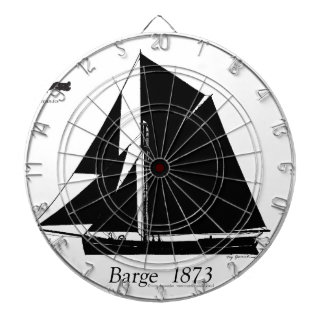 1873 Barge - tony fernandes Dartboard