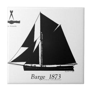 1873 Barge - tony fernandes Tiles