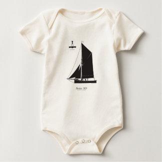 1873 Bawley - tony fernandes Baby Bodysuit