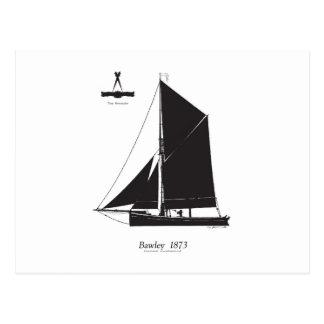 1873 Bawley - tony fernandes Postcard