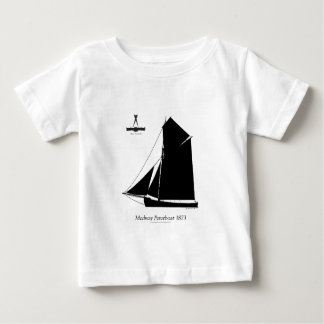 1873 Medway Peterboat - tony fernandes Baby T-Shirt