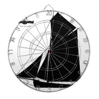 1873 Medway Peterboat - tony fernandes Dartboard