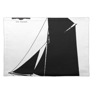 1873 Medway Peterboat - tony fernandes Placemat