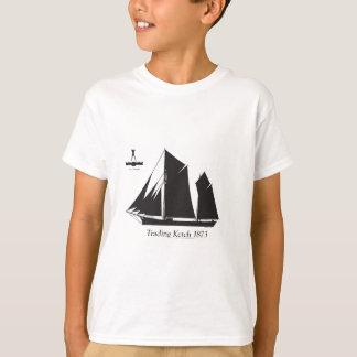 1873 trading ketch - tony fernandes T-Shirt