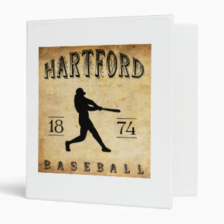 1874 Hartford Connecticut Baseball Vinyl Binders