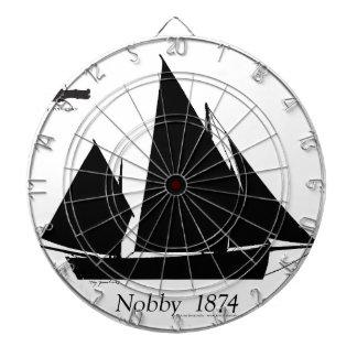 1874 Nobby - tony fernandes Dartboard