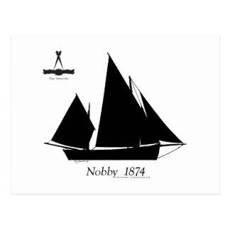 1874 Nobby - tony fernandes Postcard