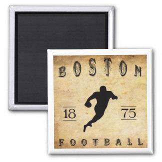 1875 Boston Massachusetts Football Magnet