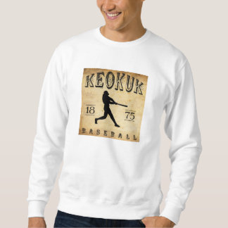 1875 Keokuk Iowa Baseball Sweatshirt
